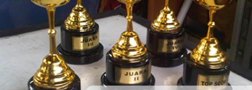 Plakat Logam Terbaik kami, plakat trophy terbaik bahan timah model cup